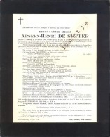 Doodsbrief Onderpastoor Arseen De Sutter - Lembeke 1906 - Gent - Lotenhulle - St Amandsberg 1947 - Avvisi Di Necrologio