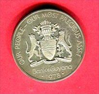 10  DOLLARS 1978 TTB/SUP 55 - Guyana