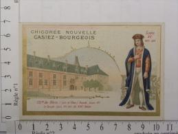 Chromo Image Chicorée Nouvelle CASIEZ-BOURGEOIS - Château De Blois - Louis XII - Thé & Café