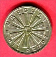 1000 PESOS 1962  (Y 53  TTB 32 - Uruguay