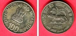 100 ROUPIE  1985  (KM 684)  TTB/SUP  125 - India