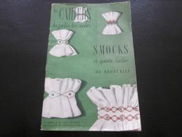 1953 Vintage Les Cahiers Du Jardin Des Modes Couture Broderie Dentelle Tricot Smock Points De Croix Fac Loisirs Créatifs - Libri, Riviste, Fumetti
