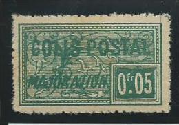 ALGERIE: **, COLIS POSTAUX, N°10c, Lég. Rousseurs, B/TB - Paquetes Postales