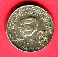 200 SOLES AVIATION CIVILE  1975  (KM  262 )  TTB/SUP  42 - Pérou