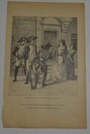 De La Collection Cyrill Riedel, Sur Papier D'env 80 Grs, Format En Cms: 17x27 Extrait De Le Lion De Camors - Vieux Papiers