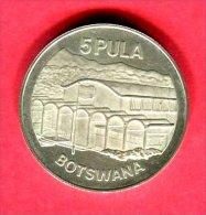 5 PULA 1976     (KM  9)  TTB/SUP  40 - Botswana