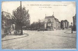 Avenue Victor Hugo à Boulogne-billancourt/ 1921 - Boulogne Billancourt