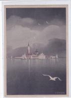 "CARD VENEZIA  FIRMA G.KRAYER""SAN GIORGIO"" RETRO PUB.S.A.I.S. LAB.CHI.FAR.BIOL.2 SCANNER -FG-V-2-0882-23063-062 - Venezia (Venice)"