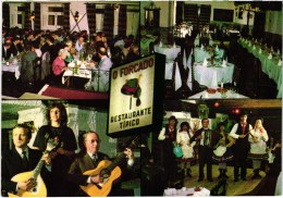 Lisboa - O Forcado - Restaurante Restaurant - Fado Song - Portugal (2 Scans) - Lisboa