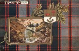 THE MACPHERSON CLUNIE BRIDGE OILETTE RAPHAEL TUCK AND SONS SCOTTISH CLANS ECOSSE SCOTLAND - Scotland