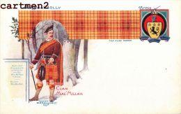 BADGE-HOLLY CLAN MAC MILLAN CLAN TARTAN SCOTTISH ARMS SCOTLAND ILLUSTRATOR W And A.K. Johnston - Scotland