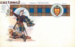 BADGE LAUREL CLAN MACLAREN CLAN TARTAN SCOTTISH ARMS SCOTLAND ILLUSTRATOR W And A.K. Johnston - Scotland