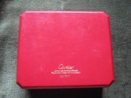 Original Vintage Cartier Watch Box - Jewels & Clocks