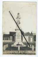 Carte Photo - Aux Enfants De Mazinghien Morts Pour La France - Monument Aux Morts - - France