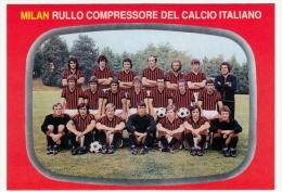 SQUADRA A.C. MILAN - CAMPIONATO CALCIO 1975 - Vedi Retro - Fútbol