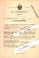Original Patent - E. Alabarbe & A. Lebrethon à Lisieux , Calvados , 1882 , Chauffage Et Refroidissement Appareil !!! - Lisieux