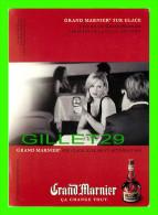 ADVERTISING - PUBLICITÉ -  LA LIQUEUR GRAND MARNIER SUR GLACE - ZOOM CARDS - - Pubblicitari
