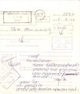 BANGLADESH MONEY ODER - BOOKED FROM DAKSHIN SURMA, SYLHET, PAID THROUGH TEMPORARY PO DA 787, FENI AREA - Bangladesh