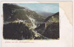 Austria - Grusse Von Der Arlbergbahn - Tirol - Train - Trains
