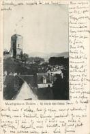 Montignac Sur Vezere  Un Coin Du Vieux Château -- Petit Cliché Cachet Ambulant - France