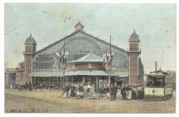 LE HAVRE (Seine Maritime) La Gare - Animée - Passage Du Tramway - Station