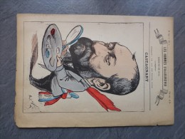 CASTAGNARY, Caricature De GILL, Vers 1850 ?  ; Ref 381 G8 - Stiche & Gravuren