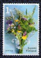 Finlande 2013 Sans Gomme Stamp Fleurs Flowers Summer Bouquet D'été - Finlande