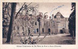 (33) Environs De Langon - Auros - Abbaye Cistercienne De Sainte Ste Marie Du Rivet - Au Dos écrit En Japonais - 2 SCANS - Francia