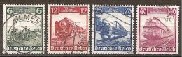 DR 1935 // Michel 580/583 O (3042) - Deutschland
