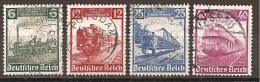 DR 1935 // Michel 580/583 O (3038) - Deutschland
