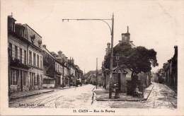 Cpa  14  Caen , Rue De Bayeux Et Rue De Bretagne ..joli Plan - Caen