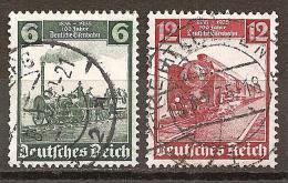 DR 1935 // Michel 580,581 O (3026) - Gebraucht