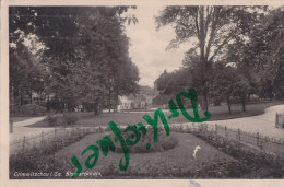 Crimmitschau Sa., Bismarckhain, Um 1935, Mit Bahnpost-Stempel - Monuments
