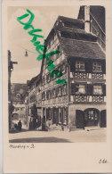 Meersburg Am Bodensee, Fachwerkhaus, Stefan Schneider Zigarren, AKs, Franz Bücheler, Schneidermeister, Um 1930 - Geschäfte