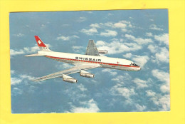Postcard - Douglas DC-8, Swissair, Zagreb, Exhibition       (18184) - 1946-....: Moderne