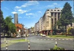 Charleroi - Boulevard Tirou - 1052-3 - Formato Grande Viaggiata Mancante Di Affrancatura - Charleroi