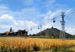 Charleroi - Charbonnage - 220 - Formato Grande Viaggiata Mancante Di Affrancatura - Charleroi