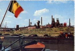 Charleroi - Complexe Industriel - 26 - Formato Grande Viaggiata Mancante Di Affrancatura - Charleroi