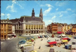 Charleroi - Hotel De Ville - 1052-2 - Formato Grande Viaggiata Mancante Di Affrancatura - Charleroi