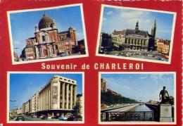 Souvenir De Charleroi - 10 - Formato Grande Viaggiata Mancante Di Affrancatura - Charleroi