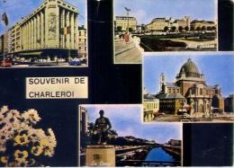 Souvenir De Charleroi - 86 - Formato Grande Viaggiata Mancante Di Affrancatura - Charleroi