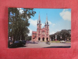 Vietnam  -- Sagion Catholic Cathedral ------ ---ref 1728 - Vietnam