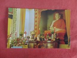 Vietnam  -Budda Statue Xa Loi Pagoda Saigon  ------ ---ref 1728 - Vietnam