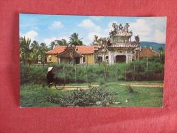 Vietnam -Ancient Temple South Viet Nam  ---ref 1728 - Vietnam