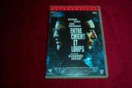 ENTRE CHIEN ET LOUP   DOUBLE DVD  SEANCE D'ENREGISTREMENT  DE LA CHANSON  AVE JOHNNY HALLYDAY - Histoire