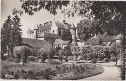 Carte Postale Ancienne,03,allier,LAPALI SSE,EN 1950,CHATEAU,PARC,JARDIN, PHOTO COMBIER - Lapalisse