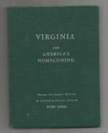 VIRGINIA And AMERICA´S HOMECOMING , 1956 , 64 Pages , 4 Scans ,   Frais Fr : 2.00€ - Esplorazioni/Viaggi