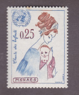TIMBRE MONACO N°603 NEUF * TRACE CHARNIERE 1963 - Monaco