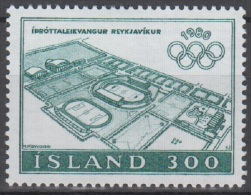 Iceland Sc531 1980 Moscow Olympics, Jeux Olympiques - Summer 1980: Moscow