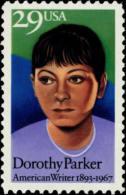 USA 1992 Dorothy Parker Stamp Sc#2698 Famous Lady Writer Poet - Jobs